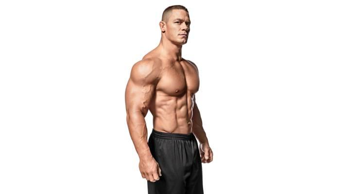 白色背景,WWE,健美,新闻,摔跤SmackDown,躯干,演员,摔跤手,健美,约翰Cena,腹肌,肌肉,...