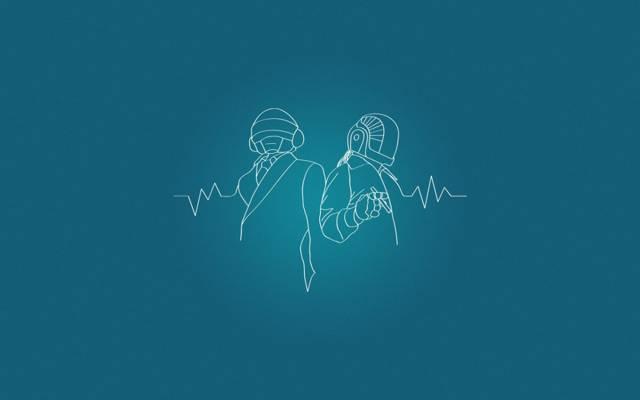 脉冲,图,音乐,极简主义,Gies-Manuel de homem克里斯托,法国房子,蓝色,该项目,托马斯班加罗尔,...