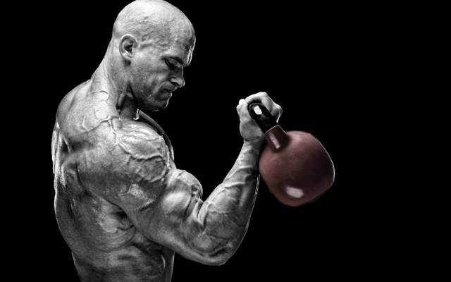 训练,肌肉,去皮,健美,肌肉力量,力量,俄罗斯杠铃