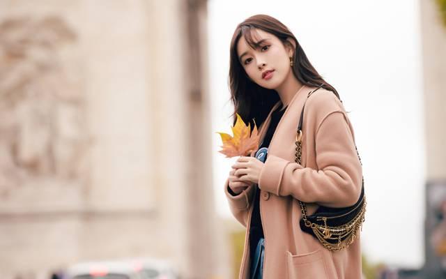 孟子义时尚浪漫街拍写真
