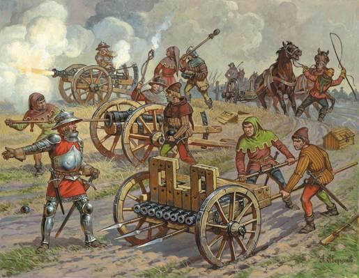 艺术,桶,班尼克,团队,火药,帽,炮兵,两个,中世纪,充电器,(十四 - 十五世纪),蛇纹石,图,配件,...