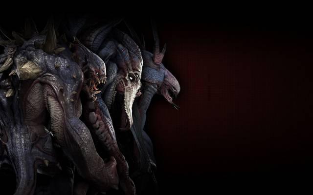 生物,黑暗,恶魔