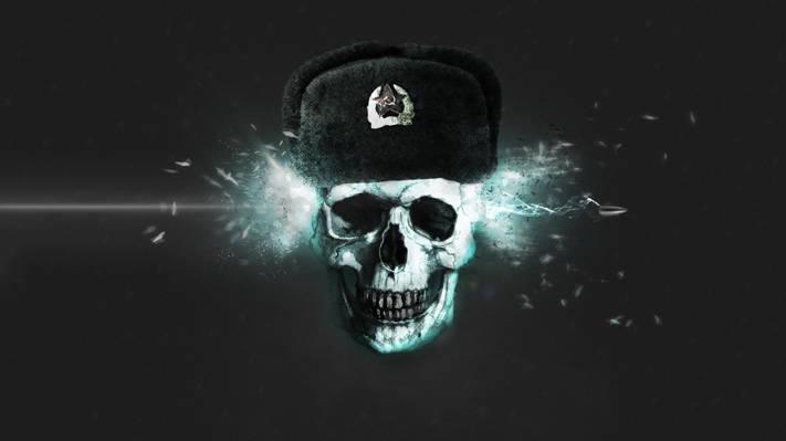 帽子,子弹,离境,影响能源,背景,头骨,平庸