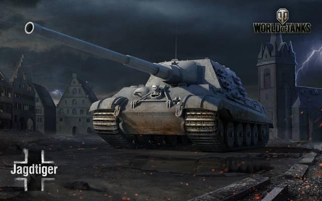 WoT,艺术,坦克世界,德国,坦克世界,坦克,天空村,Himmelsdorf,PT-ACS,镇...