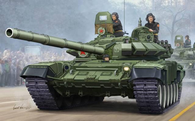 武器,动态,艺术,发射器,文森特围,坦克,保护,枪,接触,T-72,胜利大游行,选项,俄罗斯,...