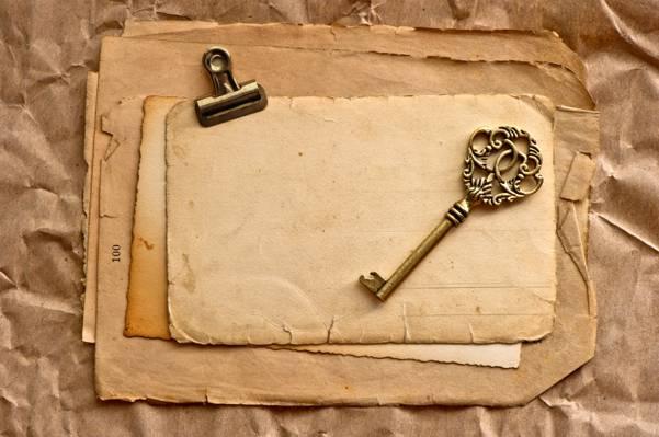 年份,关键,纸,葡萄收获期,老,页,泛黄
