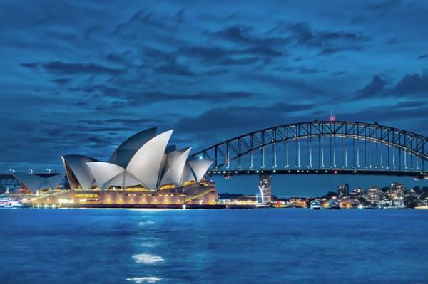 悉尼歌剧院在澳大利亚高清壁纸