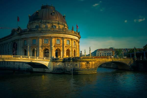柏林博物馆岛风光