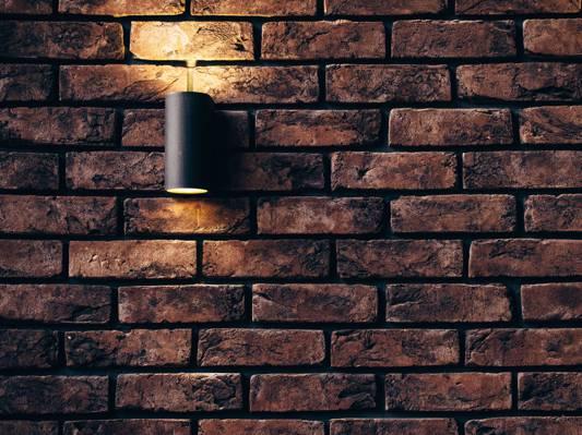 打开灯壁灯高清壁纸