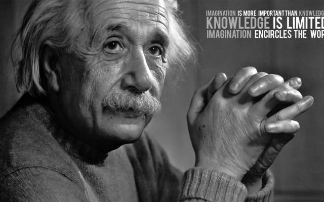 爱因斯坦,这个想法,引用