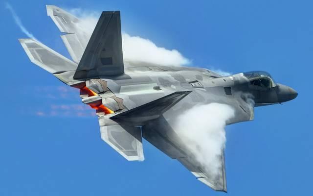 武器,F-22猛禽,天空,飞机