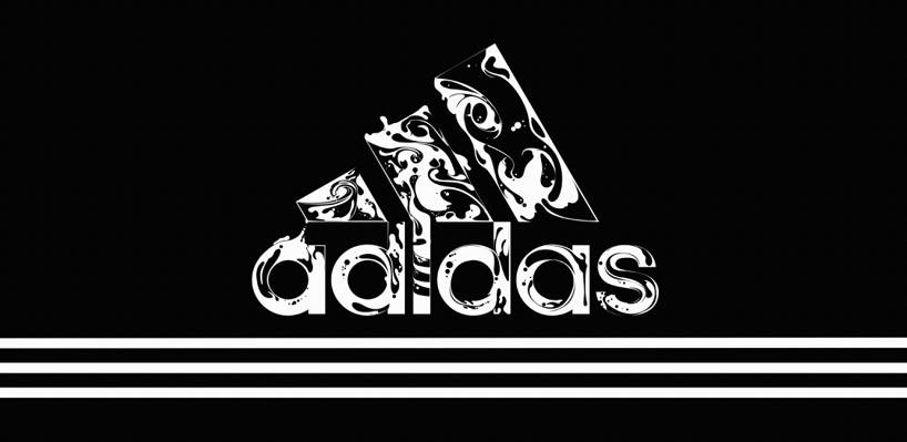黑色,背景,样式,徽标,阿迪达斯,阿迪达斯,地带