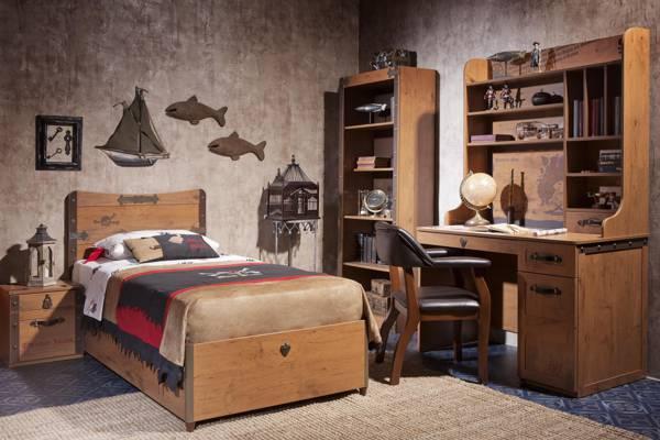 儿童房,黑海盗,风格,内饰,设计