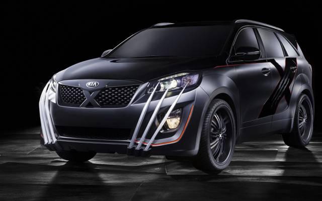 X-Car,起亚,2015年,起亚