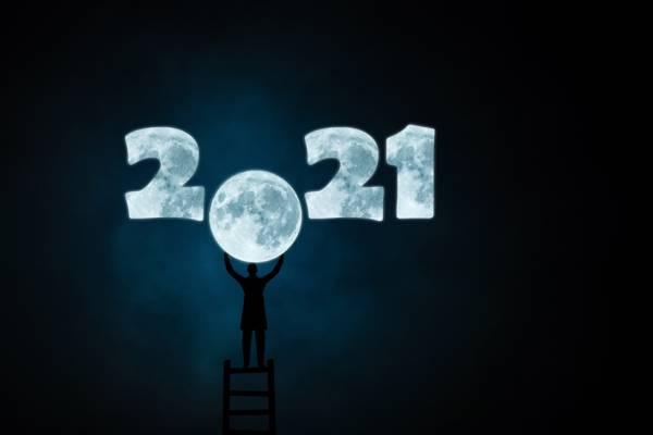 2021创意数字图片