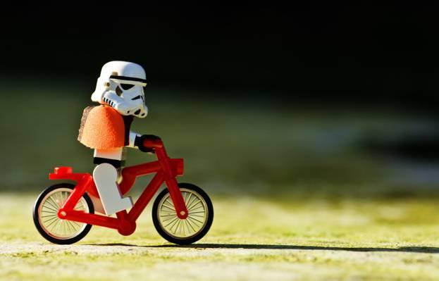 星球大战,克隆,乐高,自行车,星球大战