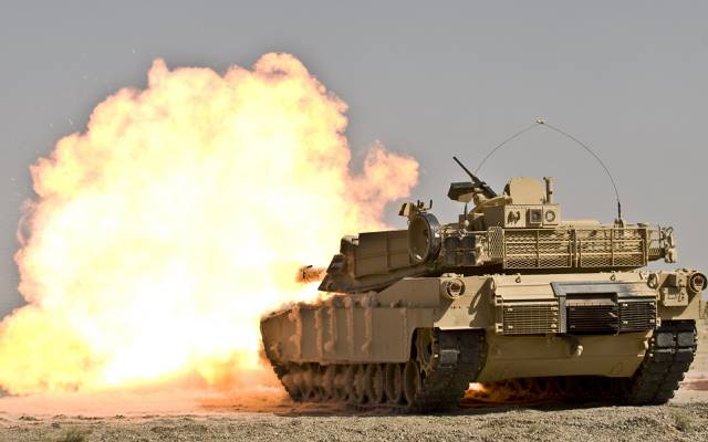 坦克,爆炸,M1A1艾布拉姆斯