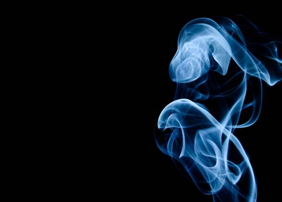 白色的烟雾图高清壁纸