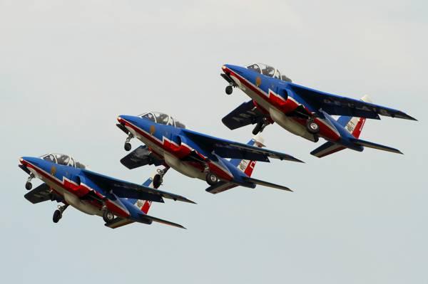 容易,Patrouille de法国,喷气式飞机,攻击,阿尔法喷气机,Dornier