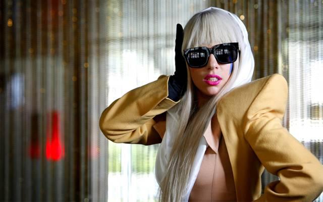眼镜,Lady Gaga,歌手,西装