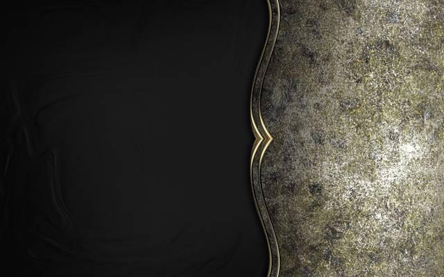 背景,纹理,黑色,豪华,银