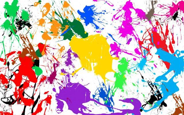 污点,彩虹,油漆,纹理,现货