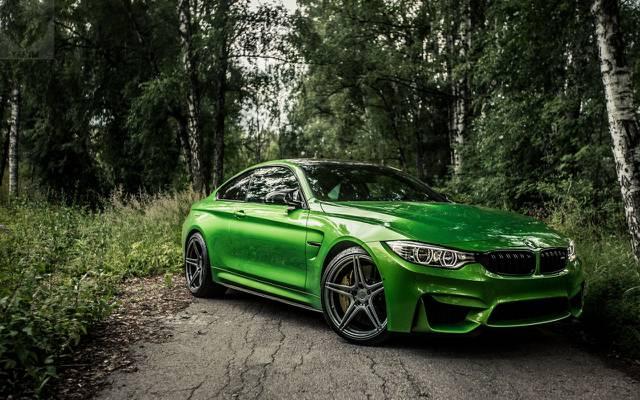 壁纸新,最好的宝马,m4new,f82,宝马m4,宝马,汽车,绿色,绿色
