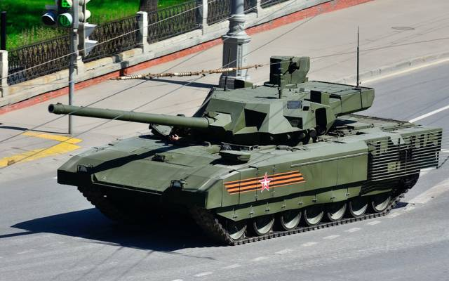 坦克,装甲,T-14,游行,Armata,红色方块