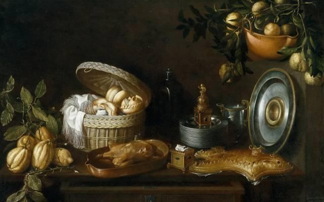 图片,瓶,托马斯HEPES,静物,篮子,盘子,盘子