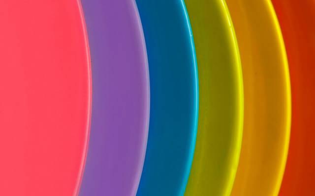 层,弧,漆,彩虹,音量