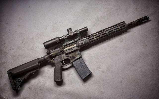 光学,背景,突击步枪,武器