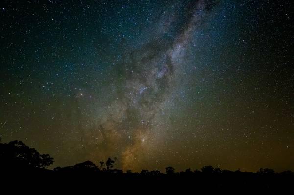 无限,空间,星星,夜晚,银河系