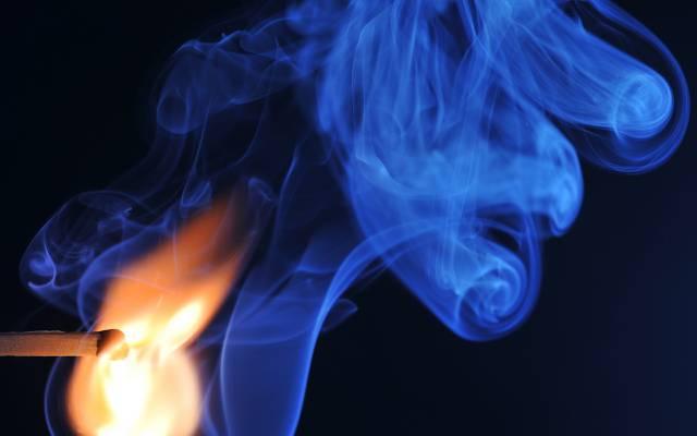 烟,火柴,宏,火