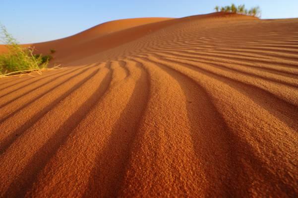 自然,天空,沙漠,沙滩