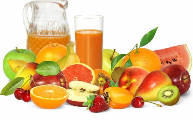 壁纸浆果,果汁,水果