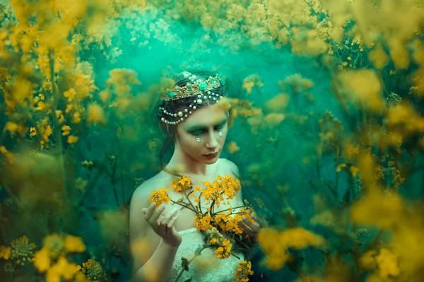 Bella Kotak,仲夏的梦,化妆,女孩,眼泪,装饰