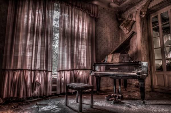 房间,钢琴,音乐