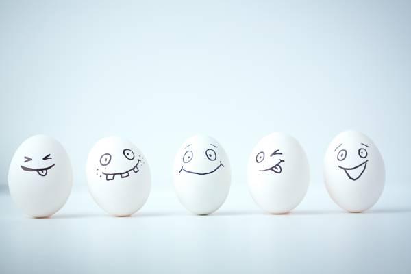 鸡蛋,鸡蛋,笑脸,微笑,微笑,搞笑,脸