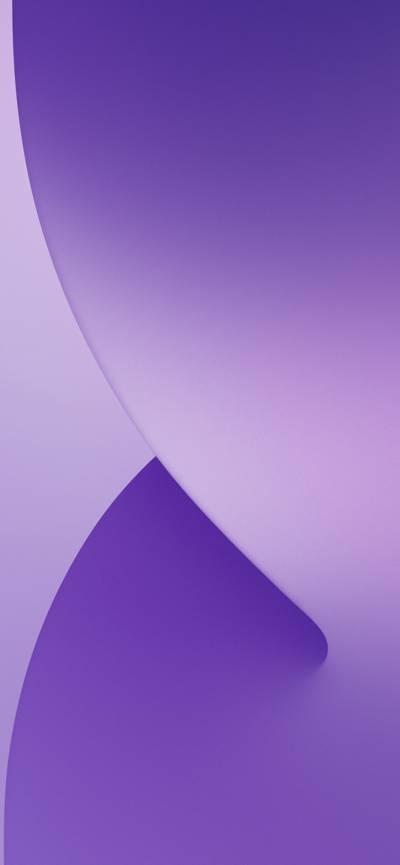 iphone12紫色自带壁纸