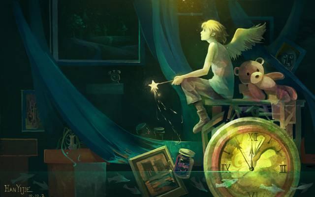 花,熊,艺术,家伙,银行,动漫,水,星号,花瓶,图片,光,翅膀,手表,魔杖,鱼,...