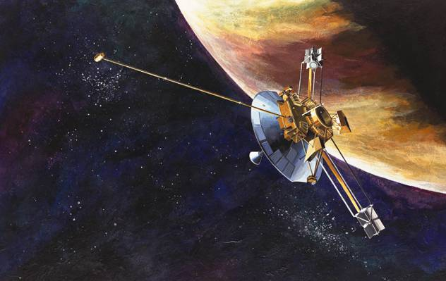 航天器,美国航天局,无人驾驶,先锋10