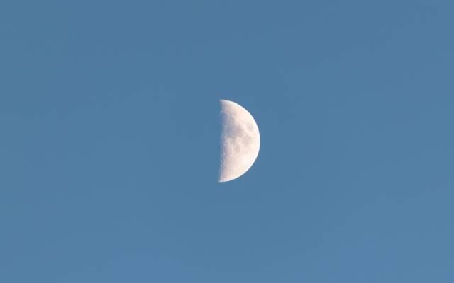 月亮,天空,一个月,卫星