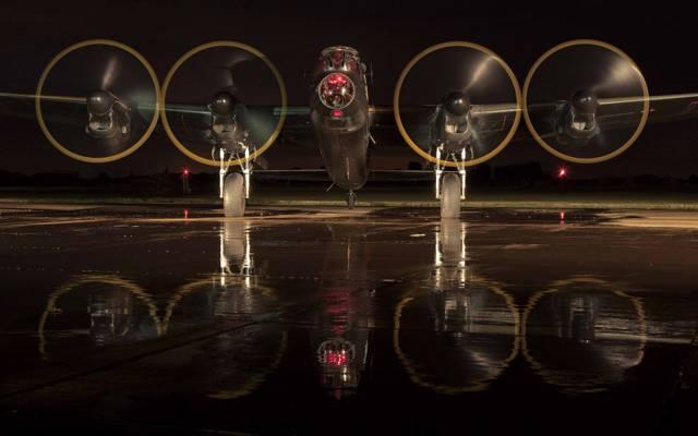 四引擎,轰炸机,沉重,阿夫罗兰开斯特