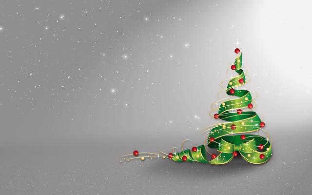 壁纸星星,球,假日,雪,装饰,树,新年,圣诞节,新年,圣诞节,星星