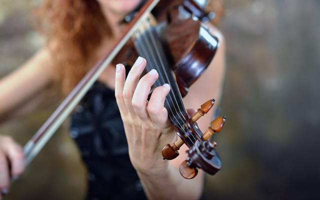 小提琴,背景,音乐