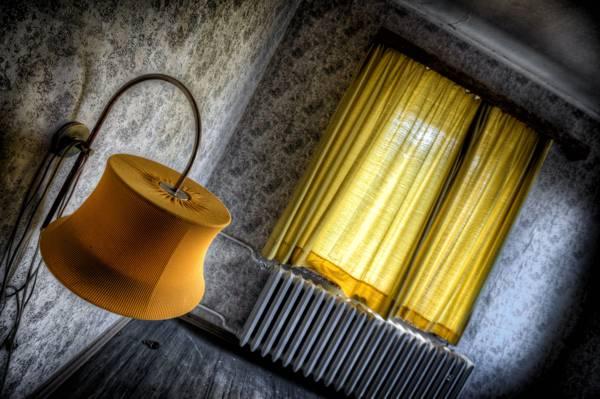 房间,灯,窗口