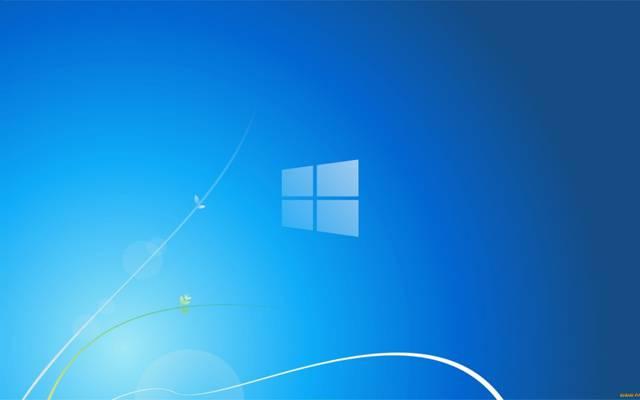 Windows 8,蓝色,背景,微软