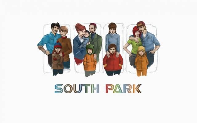 南方公园,卡特曼,南方公园,肯尼,卡希尔,南方公园,多元文化,斯坦