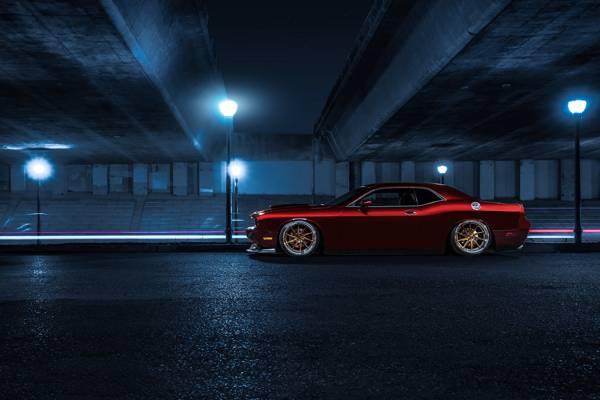 汽车,肌肉,红色,之前,美国,侧,嘉德,挑战者,道奇,糖果,车轮